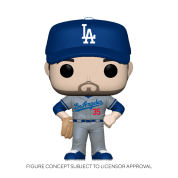 Funko POP! MLB: Dodgers- Cody Bellinger (Road Uniform) Vinyl Figure 10cm