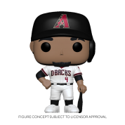 Funko POP! MLB: Diamondbacks- Ketel Marte (Home Uniform) Vinyl Figure 10cm
