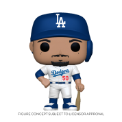 Funko POP! MLB: Dodgers - Mookie Betts (Home Uniform) Vinyl Figure 10cm