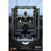 The Dark Knight Batman Armory Diorama with BATMAN Sixth Scale Collectible action figure Movie Masterpiece limited edition