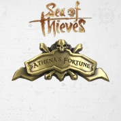 Sea of Thieves Athena's Fortune Ship Plaque Antique