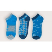Harry Potter - Set of 3 Socks Ankle - Ravenclaw