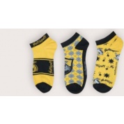Harry Potter - Set of 3 Socks Ankle - Hufflepuff