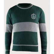 Harry Potter - Sweater Quidditch Slytherin - L