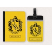 Harry Potter - Tag + Passport cover SET Hufflepuff