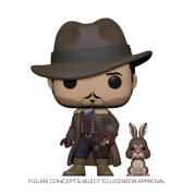 Funko POP! POP&Buddy: His Dark Materials - Lee w/ Hester Vinyl Figure 10cm