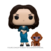 Funko POP! POP&Buddy: His Dark Materials - Mrs. Coulter w/ Ozymandias Vinyl Figure 10cm