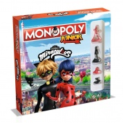 Monopoly - Junior Miraculous-Lady Bug & Cat Noir - DE