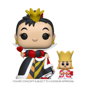 Funko POP! Alice 70th – Queen w/ King Vinyl Figure 10cm