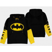 Warner - Batman Logo - Double Sleeve Hoodie - Boys