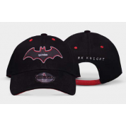 Warner - Batman - Black & Red - Curved Bill Cap