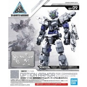 30 Minutes Missions - 30MM 1/144 OPTION ARMOR FOR COMMANDER TYPE [ALTO EXCLUSIVE/ WHITE]