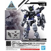 30 Minutes Missions - 30MM 1/144 OPTION ARMOR FOR COMMANDER TYPE [ALTO EXCLUSIVE/ BLACK]