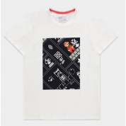 Nintendo - 8Bit Super Mario Bros White Men's T-shirt