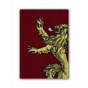 FFG Supply Sleeves - Game Of Thrones - House Lannister (50 Sleeves)