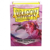 Dragon Shield Standard Sleeves - Pink Diamond (100 Sleeves)