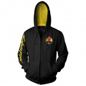 Cyberpunk 2077 Cyber Nights Zip-Up Hoodie