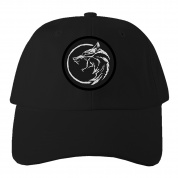 Netflix: The Witcher Medallion Patch Dad Hat