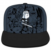 Netflix: The Witcher Monster Party Snap Back Hat