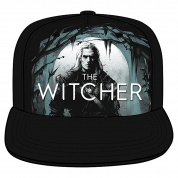 Netflix: The Witcher The White Wolf Hunts Snap Back Hat