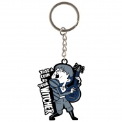 Netflix: The Witcher Jaskier Singing Keychain