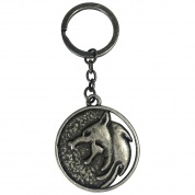 Netflix: The Witcher Wolf School Keychain