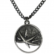 Netflix: The Witcher Yennefer Medallion Necklace