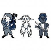 Netflix: The Witcher Frenemies 3-Pack Pin Set