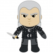 Netflix: The Witcher M8Z Geralt Plush