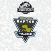 Jurassic World limited edition pin badge