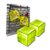 Dungeon Drop - Gelatinous Cubes