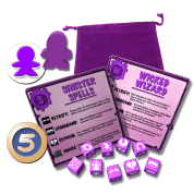 Dungeon Drop - Wizards & Spells - EN