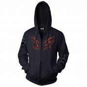 World of Warcraft Shadowlands A King No More Zip-Up Hoodie