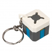 Overwatch Loot Box Light-Up Keychain