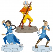 Avatar: The Last Airbender Adventure Figures, Series 1 (9-Piece Assortment)