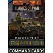Flames Of War Bagration: German Command Cards (55x Cards) - EN