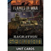 Flames Of War Bagration: German Unit Cards (70x Cards) - EN