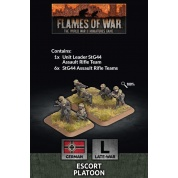 Flames Of War Escort Platoon (x30 Figs Plastic) - EN