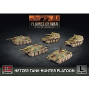 Flames Of War Hetzer/Marder Tank Hunter Platoon (x5 Plastic) - EN