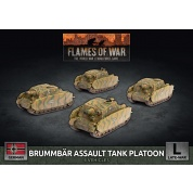 Flames Of War Brummbar Assault Tank Platoon (x4) - EN