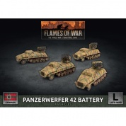 Flames Of War Panzerwerfer 42 Battery (x4) - EN
