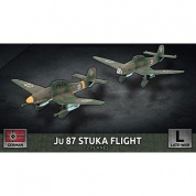 Flames Of War Ju 87 Stuka Flight (x2 Plastic) - EN