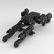 30 Minutes Missions - 30MM 1/144 Extended Armament Vehicle (SPACE CRAFT Ver.)[BLACK]