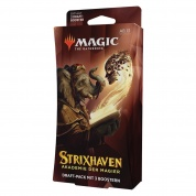 MTG - Strixhaven: School of Mages 3-Booster Draft Pack Master Carton (12 Packs) - DE