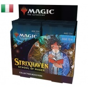 MTG - Strixhaven: School of Mages Collector Booster Display (12 Packs) - IT