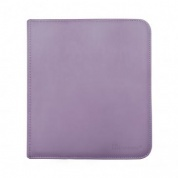 UP - 12-Pocket Zippered PRO-Binder - Purple