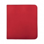 UP - 12-Pocket Zippered PRO-Binder - Red