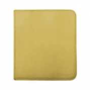 UP - 12-Pocket Zippered PRO-Binder - Yellow