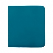 UP - 12-Pocket Zippered PRO-Binder - Teal