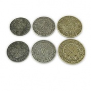 Europa Universalis: Price of Power Metal Coin Set